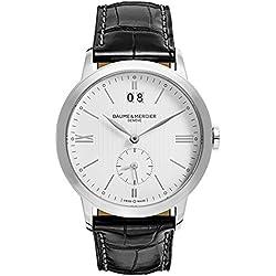Baume y Mercier Classima ejecutivos–Reloj de cuarzo para hombre moa10218