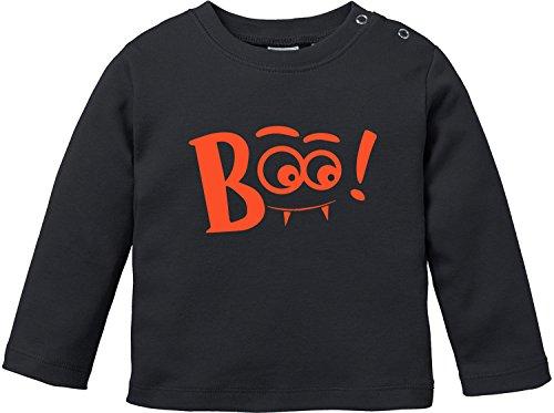 y T-Shirt Longsleeve (Boo Kostüm Für Kleinkind)