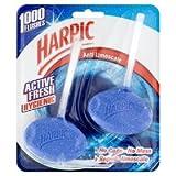 Harpic Anti-Limescale Hygienic Rim Block, 2 x 40g