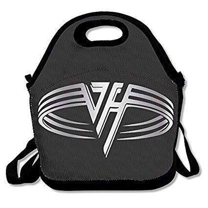Van Halen Platinum Logo Travel Tote Lunch Bag -