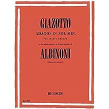 Adagio in Sol Minore (G Minor) Piano