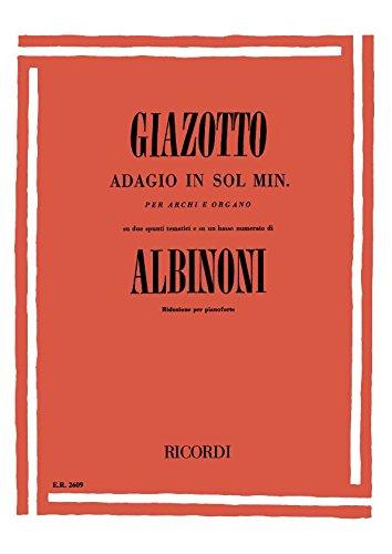 Adagio GMoll. Klavier Picture