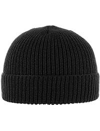 Cappellishop Portuale Cuffia a Maglia con Teflon risvolto beanie invernale  in lana 395d0a8591be