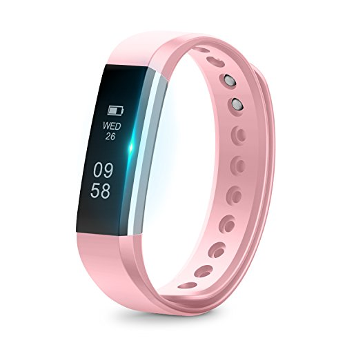 Fitness Tracker,Runme Fitnessarmband, kabelloses Bluetooth Armband,IP67 Wasserdichte, Aktivitätstracker Armband mit Schrittzähler,Schlafüberwachung für Android und iOS Smartphones