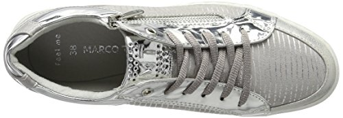 Marco Tozzi Ladies 23600 Sneaker Grigio (pettine Grigio 221)