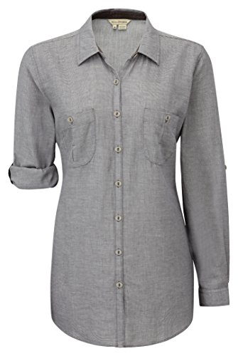 Royal Robbins Cool Mesh Langarmshirt für Damen, Damen, anthrazit, X-Large -