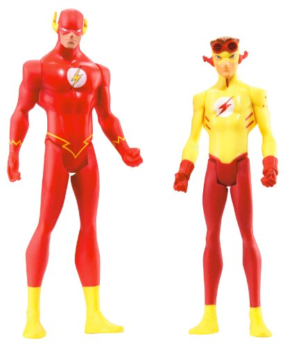 stice Serie 2 Actionfigur 2-Pack: The Flash & The Kid Flash ()