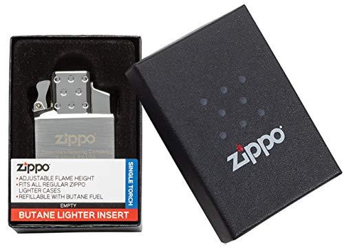 Zippo Butane Gas Insert-Single Flame Lighter Torch-Empty-2006814-Zippo Gaseinsätze, Metall, Silber, S