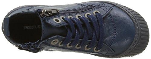 Pataugas Rocket/N J4b, Baskets Hautes Garçon Bleu (Marine)