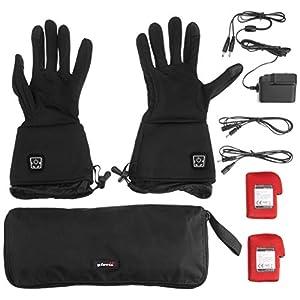 Glovii Akku Beheizte Handschuhe Universal Unterzieh Handschuhe, Grössen: XXS-XS, S-M, L-XL