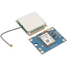XCSOURCE® GY-NEO6MV2 Controlador de vuelo NEO-6M APM 2.5 Módulo GPS con antena para Arduino EEPROM TE687