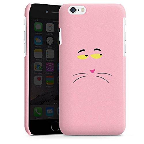 Apple iPhone 4 Housse Étui Silicone Coque Protection Panthère rose Chat Chat Cas Premium brillant