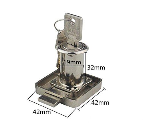 CTS/cassetto/scrivania file cabinet Serrature Prolunga Barra di Bloccaggio/Armadi/mobili Blocco Serratura Porta/Armadio/Armadietto Lock 2