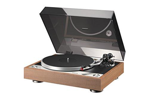 Onkyo CP-1050 - Tocadiscos (33 1/3 rpm, 45 rpm), color marrón y transparente