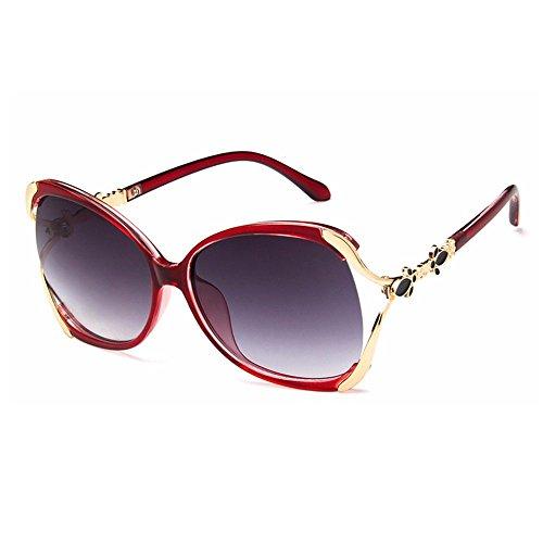 Gafas de sol rojas de mujer