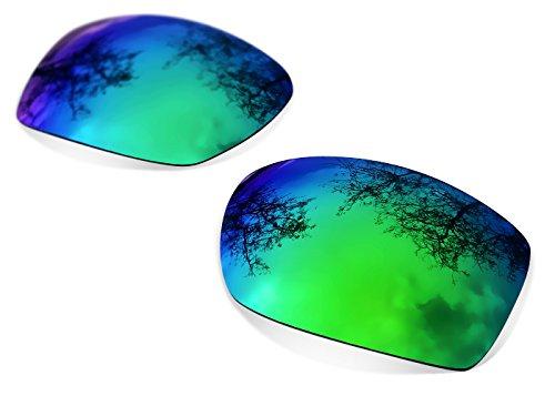 sunglasses restorer Ersatzlgläser für Oakley Eyepatch 2 (Polarized Sapphire Green Gläser)