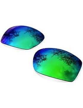 Custom SR Lentes Polarizadas Sapphire Green para Oakley Hijinx