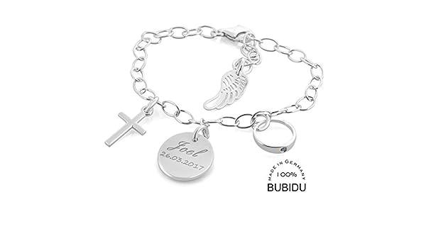 Taufgeschenk Junge Taufarmband Mit Wunschgravur Armband