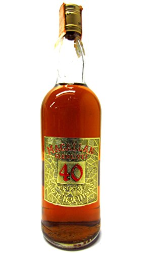Macallan - Gold Label Pure Malt Scotch 40 year old