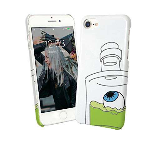 Creepy_007387 Phone Case Cover Handyhulle Handyhülle Handy Hülle Schutz for Samsung Galaxy S8 Edge Plus Funny Gift Christmas ()
