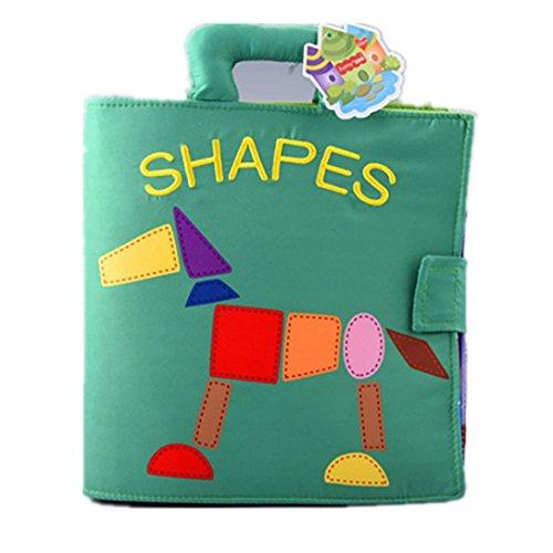 Juguetes de bebe Dragon868 Animal Monkey Puzzle tela libro para bebé juguete intellligence desarrollo libros