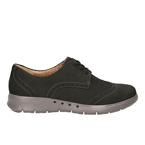 Clarks Hinton dell'ONU da Clarks non strutturati Casual scarpe da donna Black nubuck