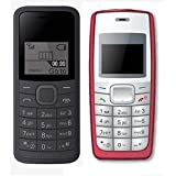 I KALL 1.44 Inch Feature Phone Combo - K73 (Black) And K72 (Red)