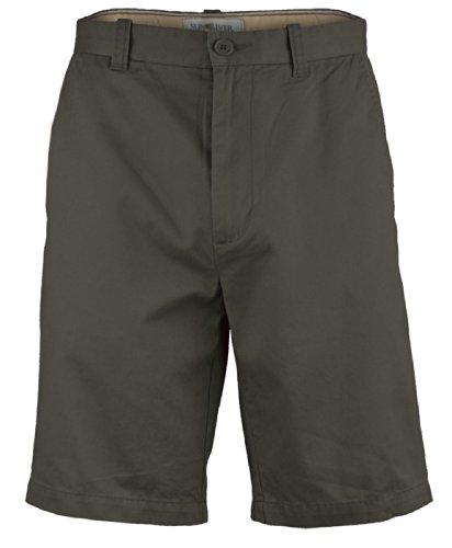 Nuovo Da Uomo Casual Estivi Pantaloncini Tinta Unita Saia Cotone Pantaloni Above Ginocchia Tuta Verde oliva