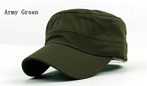 Fashion Femme Homme Unisex Visor Cap militaire des cadets sun