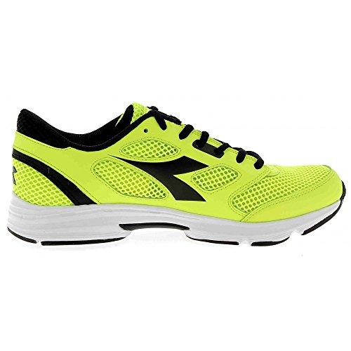 Diadora Shape 7, Chaussures de Course Mixte Adulte jaune