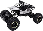 Toy Remote Control Car, Alloy Climbing Mountain Bigfoot, Four-Wheel Drive Remote Control Toy Model 116 Off-Roa