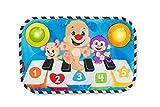 Fisher-Price, Baby Piano Centro attività, con Luci, Suoni e Musica, Introduce i Colori, Le Forme e i Numeri, Giocattolo per Neonati di 1 + Mese, FHJ41