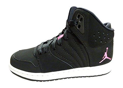Nike Jordan 1 Flight 4 Premium GG Kinder Sneaker Schwarz (37,5 EU) Air Jordan Flight Gs
