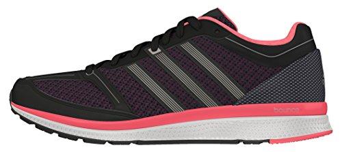 adidas Mana Rc Bounce W, Chaussures de Running Entrainement Mixte Adulte Noir - Negro (Negbas / Hiemet / Rojimp)