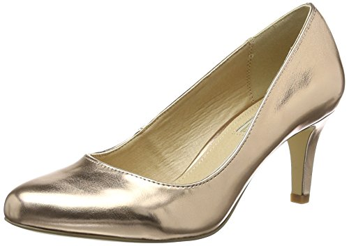 Buffalo Shoes Damen C404A-1 P2232F PU Pumps, Mehrfarbig (Rose 23), 37 EU