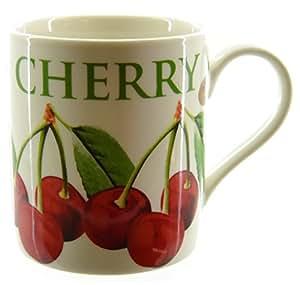 Verger Cerise Mug en porcelaine dans une boîte cadeau