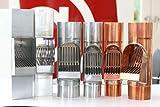 Fallrohrfilter von CurtMaxx | Effektiver Filter für Fallrohre - filtert Laub, Äste und Schmutz aus dem Fallrohr | Ø 100 mm, Zink Vergleich