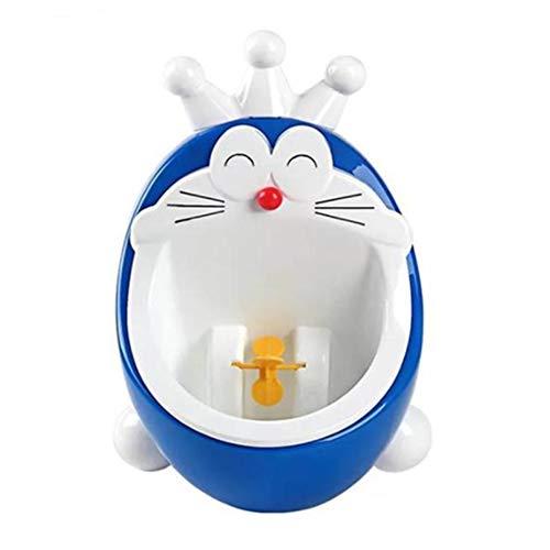 LIBWX Kinder Wc Training Sitz Baby Töpfchen Cartoon Einfache Baby Autos Kind Wc Sitz Tragbare Kindertopf Wc Training Mädchen Jungen Töpfchen Töpfchen Stuhl,Blue