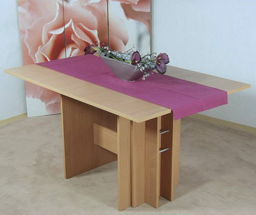 madera Auszugtisch Kulissentisch Esszimmertisch Küchentisch erweiterbar ausziehbar Buche buchefarbig