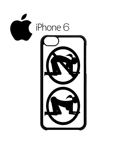 Doggy Style Sign Funky Sex Swag Mobile Phone Case Back Cover for iPhone 6 Black Blanc