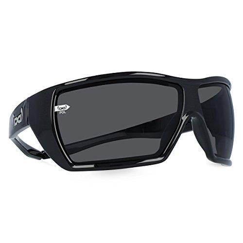 gloryfy unbreakable eyewear Sonnenbrille G12 black POL, schwarz