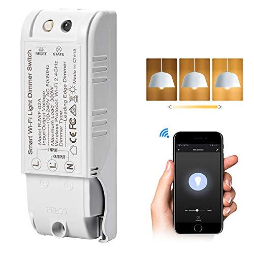 OurLeeme Smart Dimmschalter, WiFi Smart Switch Sprachsteuerungsmodul