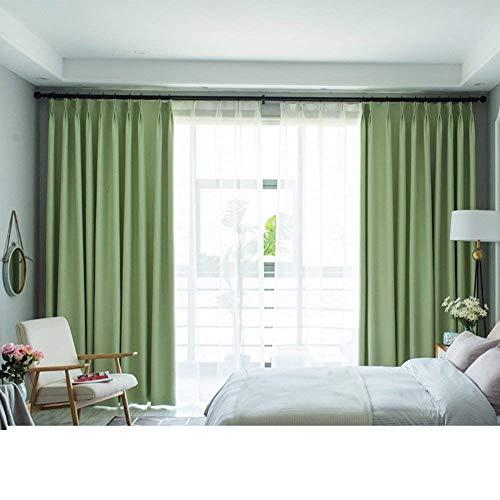 Verdunkelungsvorhänge Drapieren Moderner minimalistischer Wohnraum Schlafzimmer Erkerfenster...