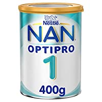 Nestlé NAN OPTIPRO Stage 1, From birth to 6 months, Starter Infant Formula, with Iron 400g