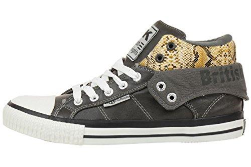British Knights ROCO BK women trainer Sneaker B34-3745-03 brown dunkelbraun