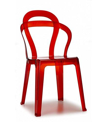 Sedia Policarbonato Rosso usato | vedi tutte i 30 prezzi!