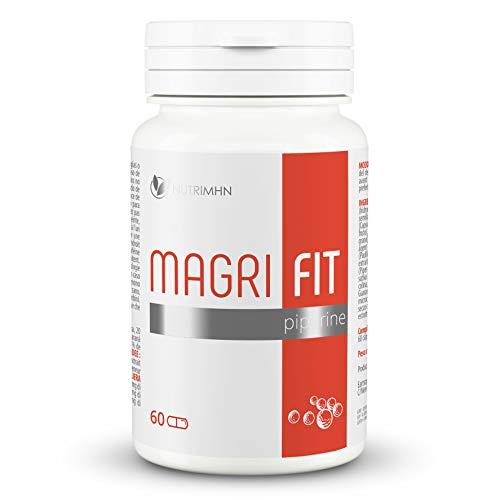 MAGRIFIT PIPERINE - Fat burner - Pastillas Para Adelgazar Muy Rapido - Quemagrasas Potente Para Adelgazar - Antioxidante - Apto para veganos y vegetarianos - Sin gluten