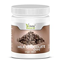Milk Chocolate Chips - 200 GM by Holy Natural