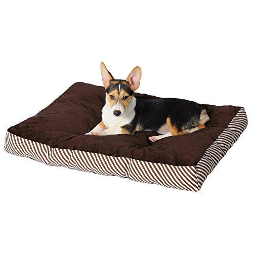 WOLTU® Hundebett Hundekissen Hundematte Schlafplatz Katzenbett Oxford Hundesofa Tierbett Braun HT2103br2