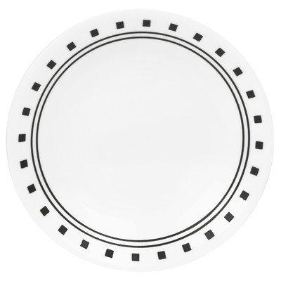 Corelle Livingware City Block 6-3/4 Bread & Butter Plate (Set of 4) by Corelle Coordinates Corelle City-block